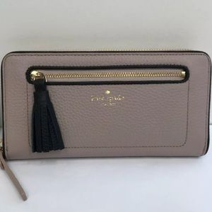 Kate spade neda Chester Street zip wallet tassel
